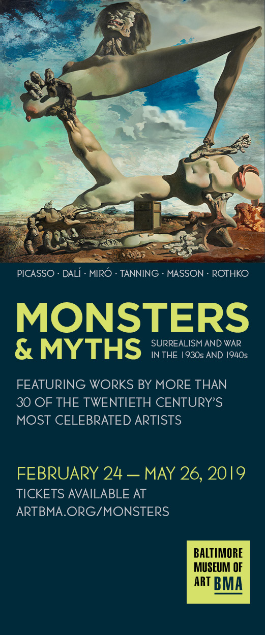 Monsters & Myths at the Baltimore Museum of Art