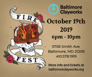 Baltimore Clayworks Fire Fest