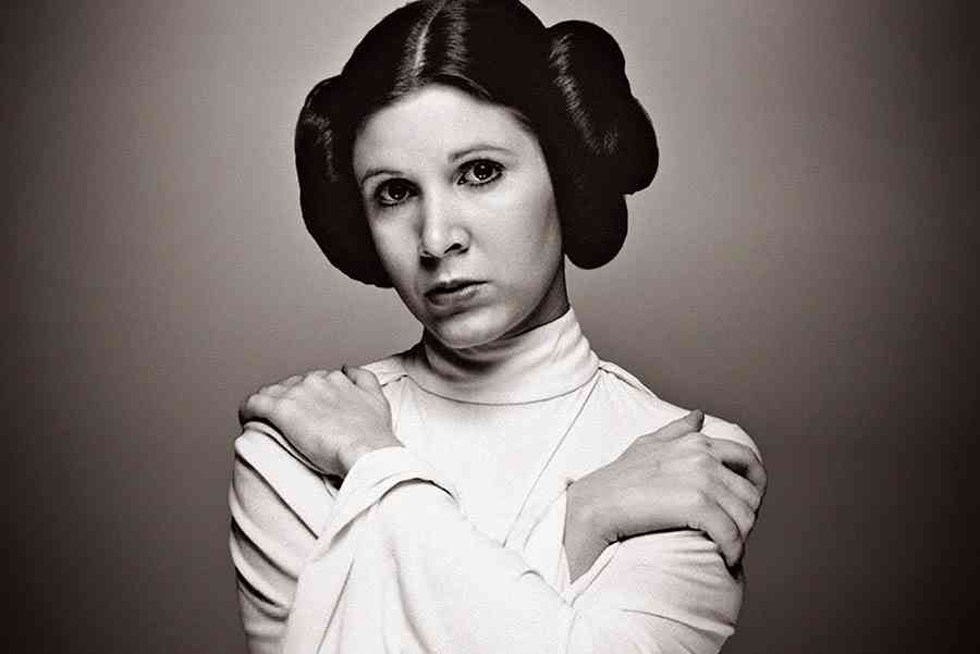princess Carrie leia fisher