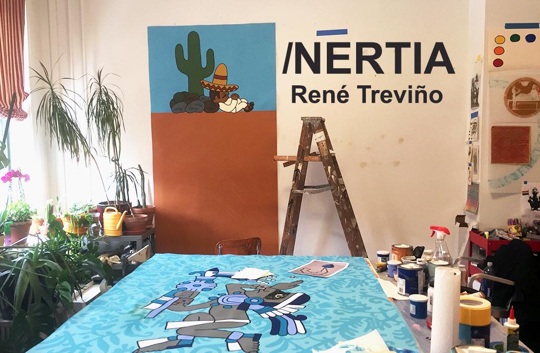 Inertia: Studio Visit with René Treviño – BmoreArt