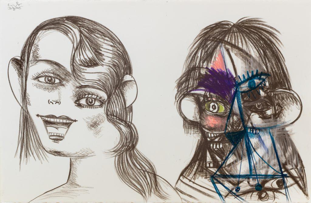 8ad448e9417 The Artificial Realism of George Condo – BmoreArt