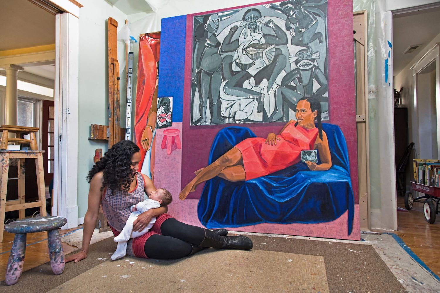 Connective Tissue: Mequitta Ahuja's Paintings Destabilize