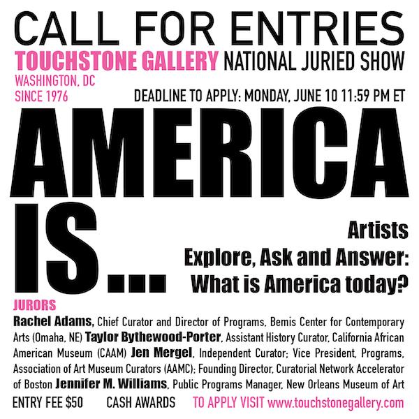 Touchstone Gallery – Call for Entry – BmoreArt | Baltimore
