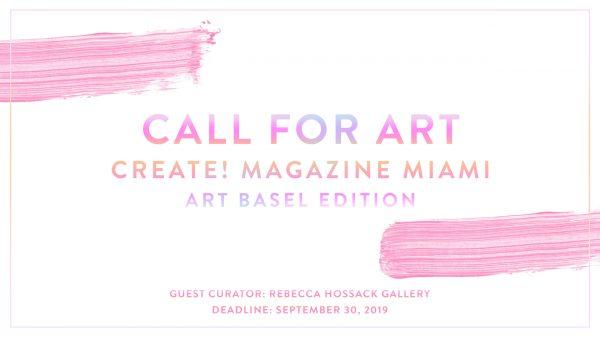 Create! Magazine Art Miami International Print Issue